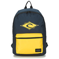 Bags Men Rucksacks Rip Curl DOME PRO 18L LOGO Marine / Yellow