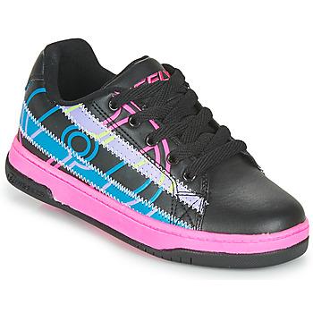 Shoes Girl Wheeled shoes Heelys SPLINT Black / Multicolour