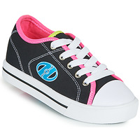 Shoes Girl Wheeled shoes Heelys CLASSIC X2 Black / Pink / Blue