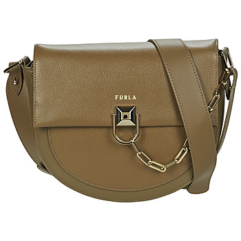 Bags Women Shoulder bags Furla MISS MIMI S CROSSBODY Taupe