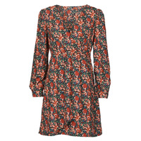 material Women Short Dresses Betty London NOMIM Black / Red