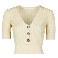 material Women jumpers Moony Mood NAME Beige / Gold