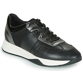 Shoes Women Low top trainers Geox D SUZZIE Black