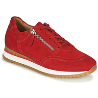 Shoes Women Low top trainers Gabor 6603548 Red