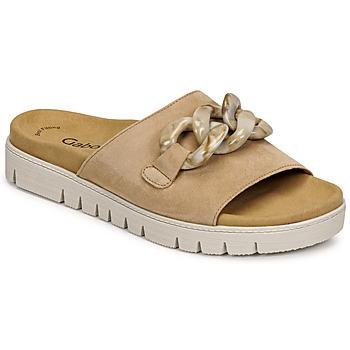 Shoes Women Mules Gabor 6374314 Caramel