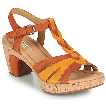 Shoes Women Sandals Gabor 6273442 Cognac