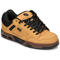 Shoes Low top trainers DVS ENDURO HEIR Chamois / Black