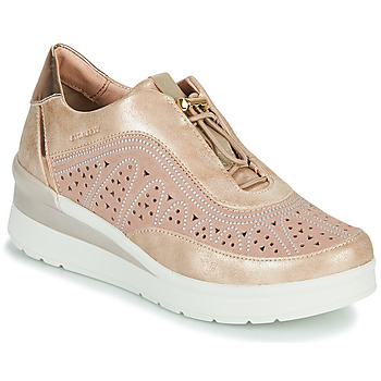 Shoes Women Low top trainers Stonefly CREAM 31 Pink
