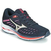 Shoes Women Running shoes Mizuno WAVE RIDER 24 Violet / Pink