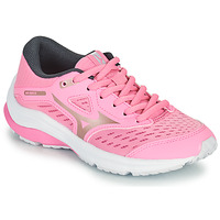 Shoes Girl Running shoes Mizuno WAVE RIDER 24 J Pink