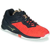 Shoes Men Indoor sports trainers Mizuno WAVE STEAL TH NEO Red / Blue