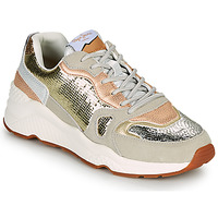 Shoes Women Low top trainers Pepe jeans HARLOW GOLDEN Beige / Gold