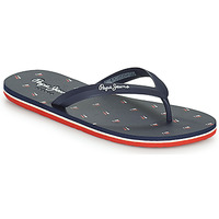 Shoes Men Flip flops Pepe jeans WHALE BRENNAN Blue
