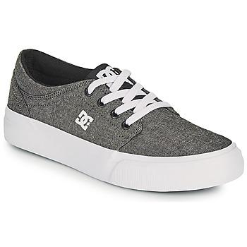 Shoes Boy Skate shoes DC Shoes TRASE B SHOE XSKS Grey