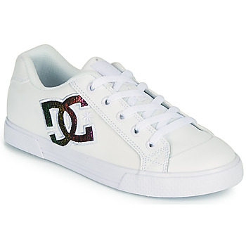 Shoes Women Skate shoes DC Shoes CHELSEA J White / Pink