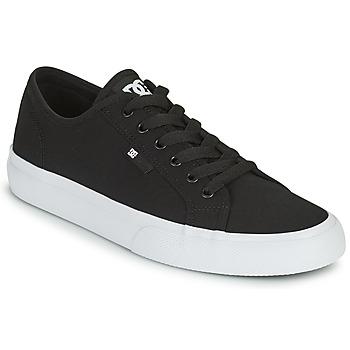 Shoes Men Skate shoes DC Shoes MANUAL Black / White