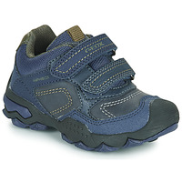 Shoes Boy Low top trainers Geox J BULLER BOY B ABX Blue