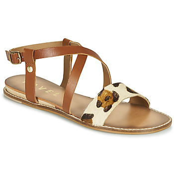 Shoes Women Sandals Ravel ASPEN Brown / Leopard