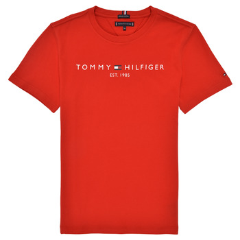 material Boy short-sleeved t-shirts Tommy Hilfiger RUBIS Red