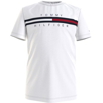 material Boy short-sleeved t-shirts Tommy Hilfiger KB0KB06532-YBR White