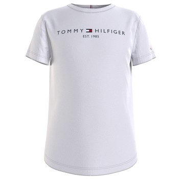 material Girl short-sleeved t-shirts Tommy Hilfiger KG0KG05242-YBR White