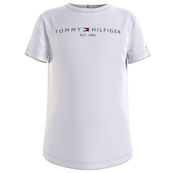 material Girl short-sleeved t-shirts Tommy Hilfiger KG0KG05242-YBR White