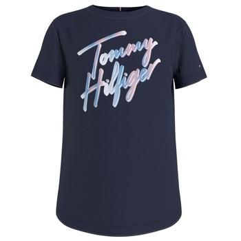 material Girl short-sleeved t-shirts Tommy Hilfiger KG0KG05870-C87 Marine