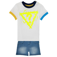 material Boy Sets & Outfits Guess I1GG22-K8HM0-TWHT Multicolour