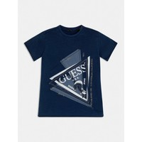material Boy short-sleeved t-shirts Guess L1RI15-K8GA0-F233 Blue