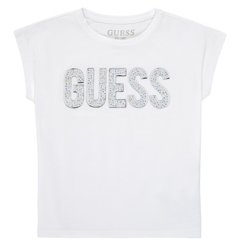 material Girl short-sleeved t-shirts Guess K1RI07-K6YW1-TWHT White
