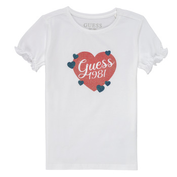material Girl short-sleeved t-shirts Guess K1RI10-K6YW1-TWHT White
