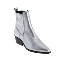 Shoes Women Mid boots André COCHITI Silver
