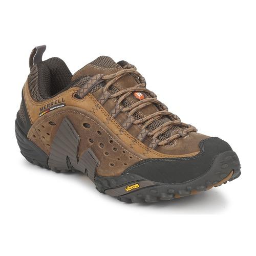Shoes Men Hiking shoes Merrell INTERCEPT Brown