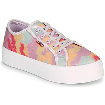 Shoes Women Low top trainers Levi's TIJUANA Multicolour