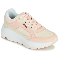 Shoes Women Low top trainers Levi's KESTERSON S Pink