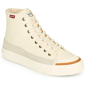 Shoes Women High top trainers Levi's SQUARE HIGH S White