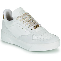 Shoes Women Low top trainers Steve Madden DARMA White / Gold