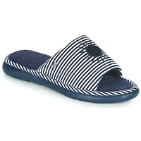 Shoes Women Slippers Isotoner NINA Blue / White