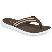 Shoes Men Flip flops Isotoner JOLA Brown