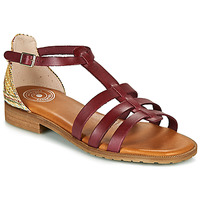 Shoes Women Sandals Pataugas ARIANE F2F Red