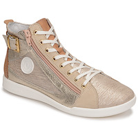 Shoes Women High top trainers Pataugas PALME/M F2E Gold