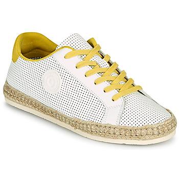 Shoes Women Espadrilles Pataugas PALOMA F2F White / Yellow