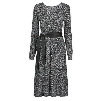 material Women Short Dresses Le Temps des Cerises CANDY Black