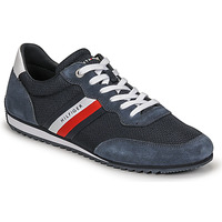 Shoes Men Low top trainers Tommy Hilfiger ESSENTIAL MESH RUNNER Marine