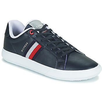 Shoes Men Low top trainers Tommy Hilfiger ESSENTIAL LEATHER CUPSOLE Marine