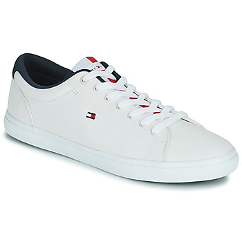 Shoes Men Low top trainers Tommy Hilfiger ESSENTIAL CHAMBRAY VULCANIZED White