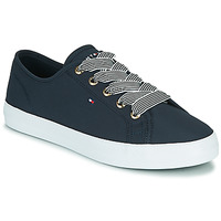Shoes Women Low top trainers Tommy Hilfiger ESSENTIAL NAUTICAL SNEAKER Marine