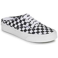 Shoes Mules Vans AUTHENTIC MULE Black / White