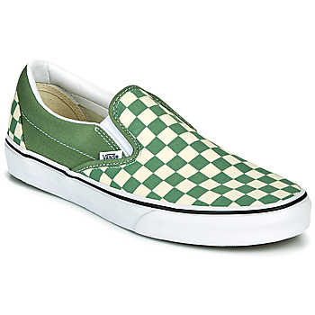 Shoes Men Slip ons Vans CLASSIC SLIP ON Green