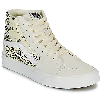Shoes High top trainers Vans SK8 HI Beige / Black